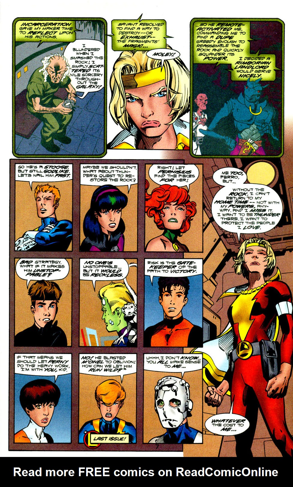 Legion of Super-Heroes (1989) 118 Page 8