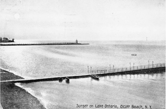 Early 1900s Postcard Of Olcott Beach Contributed