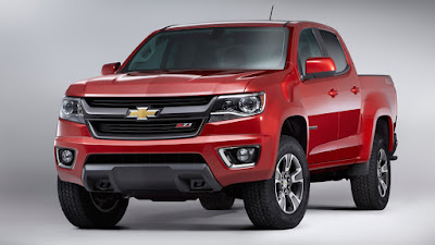 New 2016 Chevrolet Colorado front view