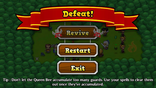 Innotoria Tower Defense Game for Android and iOS battle lost