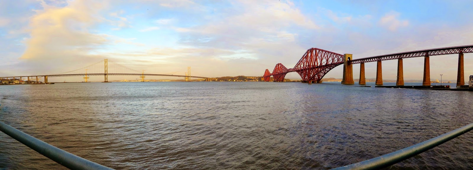 Firth of Forth Bridge, Edinburgh, Scotland, Forth river, Firth of Forth, Three centuries of bridges, Hairy Coo Tour