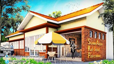 Upgrade Fungsi Masjid Dengan Fasilitas Edukasi Ekonomi & Sosial - Tampilan Animasi Masjid Ruhama Bogor