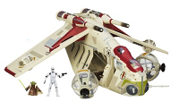 Nave Republic Gunship Star Wars Hasbro Disney