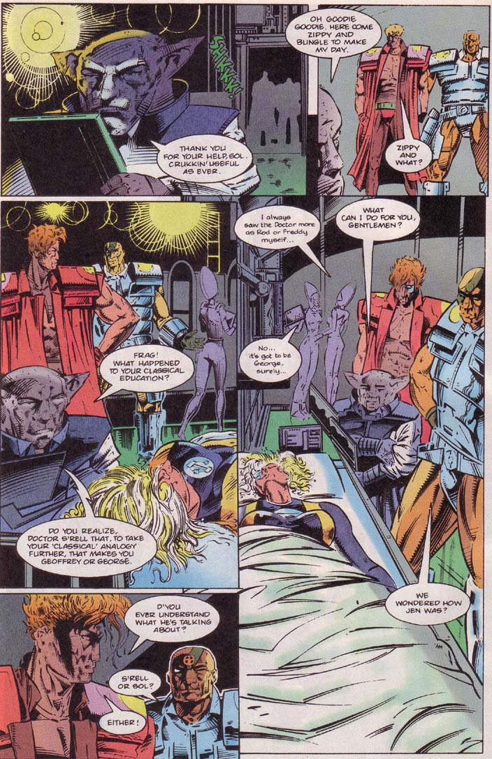 Read online Cyberspace 3000 comic -  Issue #4 - 12