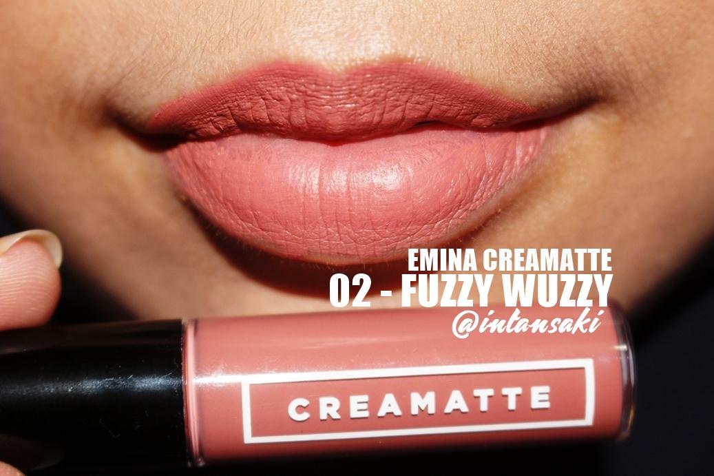 intansaki: MAKEUP REVIEW: EMINA CREAMATTE (ALL SHADES)
