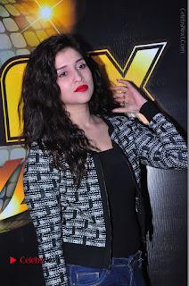 Actress Mannara Chopra Stills in Jeans at Sparx 2017 Curtain Raiser Event  0087.JPG