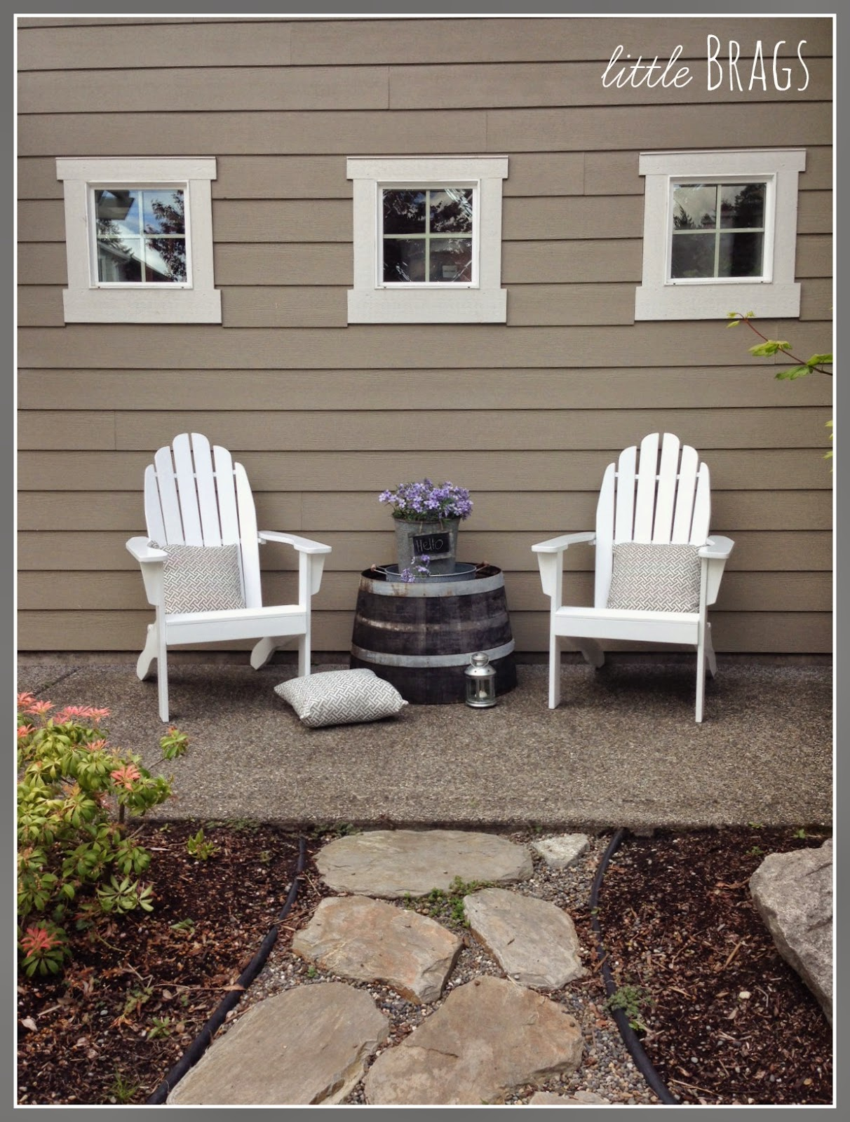 Showing Off My New Adirondack Chairs From World Market