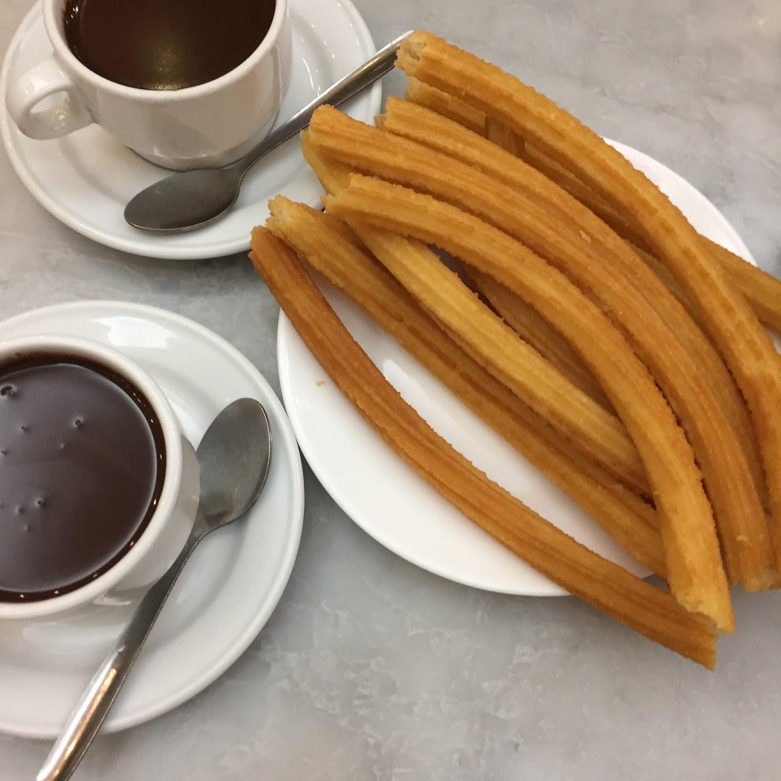 churros Chocolatería San Gínes