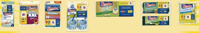 Productos en promoción 69 aniversario Spontex