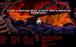 Monkey Island - setas en el infierno