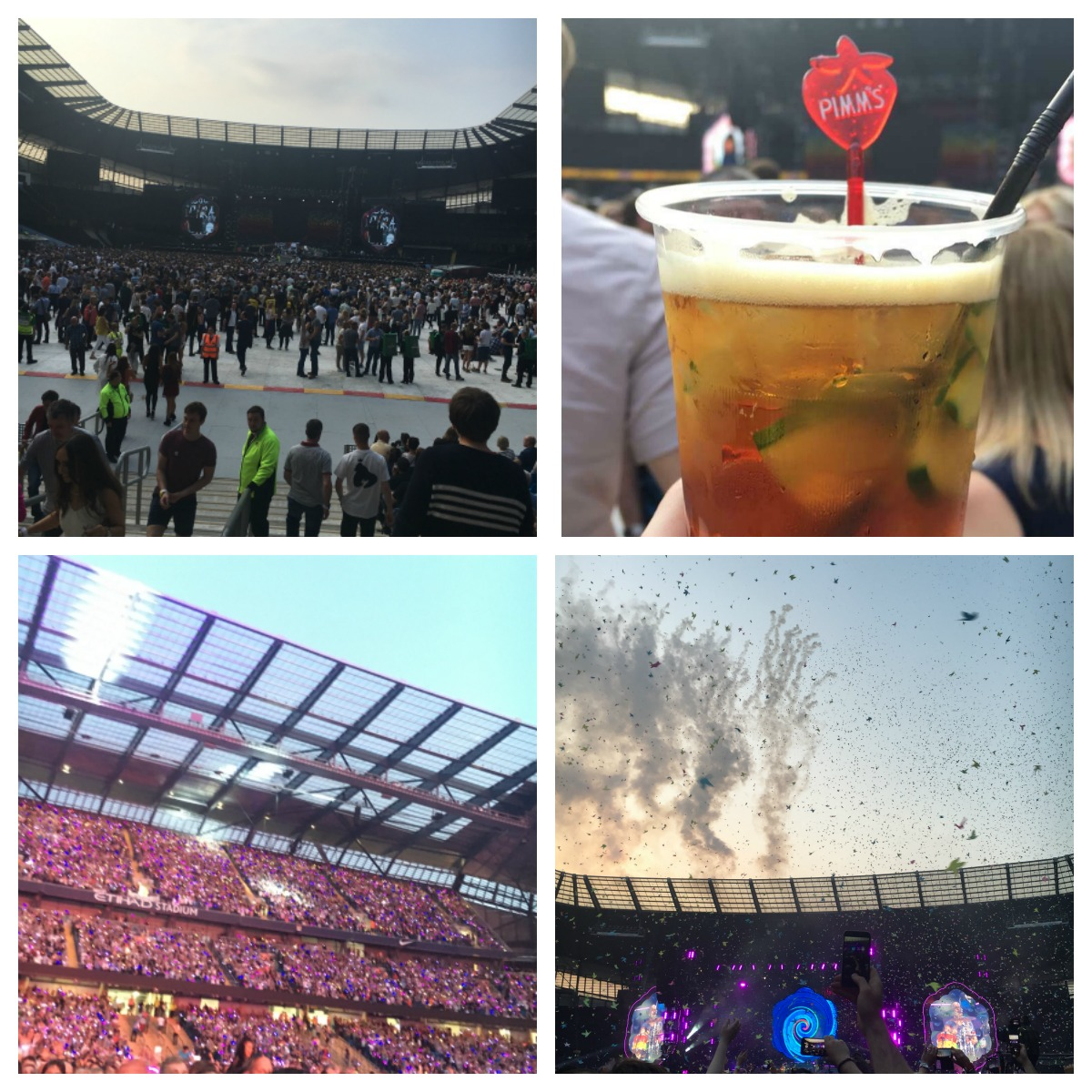 Coldplay Live at Manchester June 2016