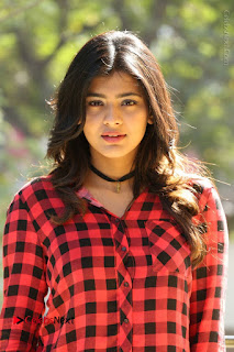 Actress Hebah Patel Stills in Blue Denim Jeans at Nanna Nenu Naa Boyfriends Movie Success Meet  0031.JPG