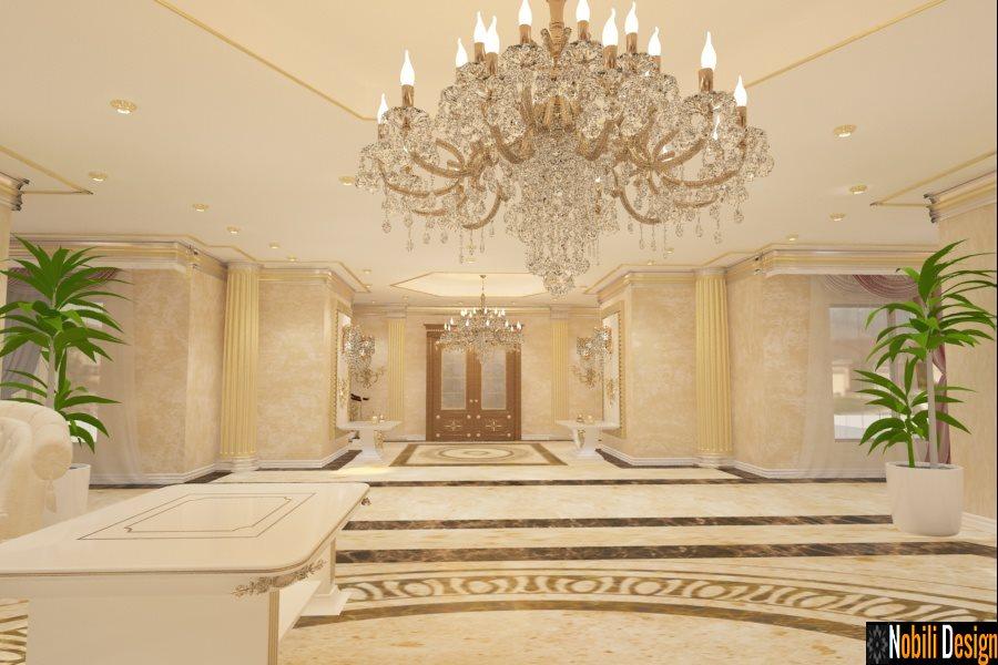 Amenajari Interioare vile Bucuresti - Amenajare living casa stil clasic Bucuresti