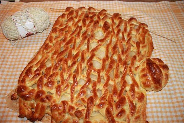 """Pastel """"de Comer"""" de Punto de Crochet"""