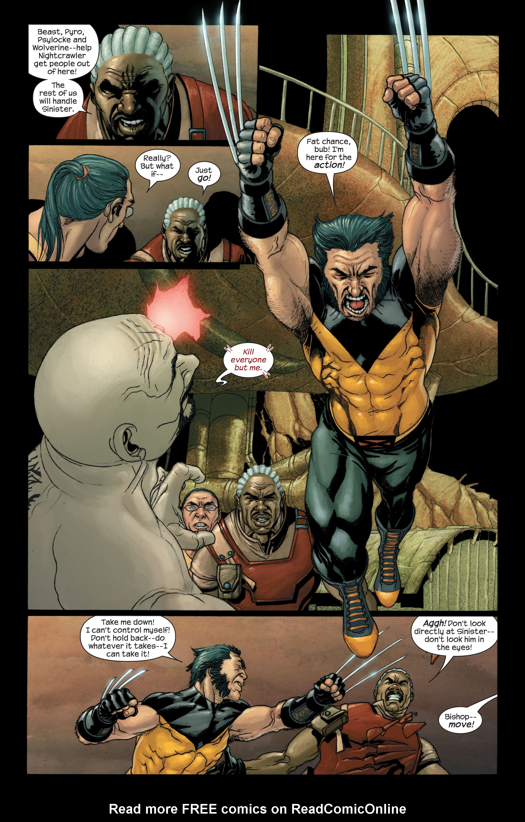 Read online Ultimate X-Men comic -  Issue #90 - 13