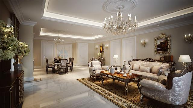 Thiết kế nội thất biệt thự Vinpearl