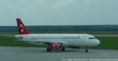 Airbus A320-231 z Amsterdam Airlines o rejestracji PH-AAX
