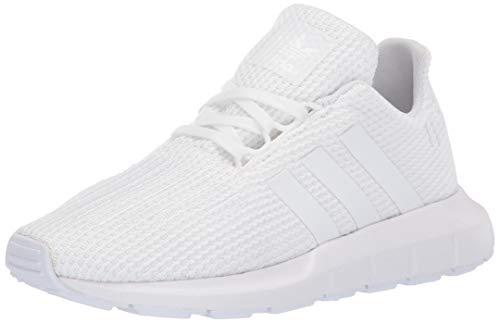 0442ca0ace0f3 adidas Originals Unisex Swift Running Shoe, White, 6.5 M US Big Kid 2019