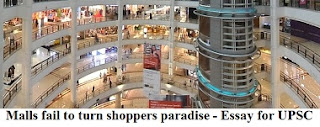 Malls fail to turn shoppers paradise