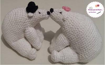 casal de ursinho namorados