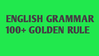 100 Golden Rules for English Grammar, Download PDF