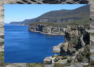 Scenic lookouts on the Hobart to Port Arthur Drive in Tasmania