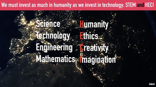 rotana ty technology humanity stem ethics creativity imagination gerd leonhard