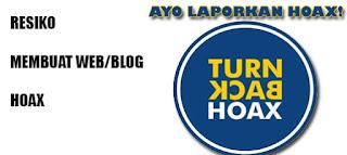 Resiko Membuat Situs/Blog Hoax