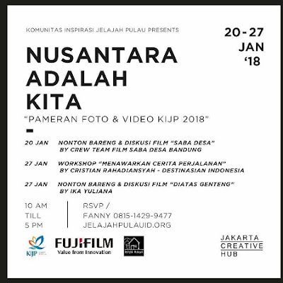 Pameran Foto dan Video KIJP 2018