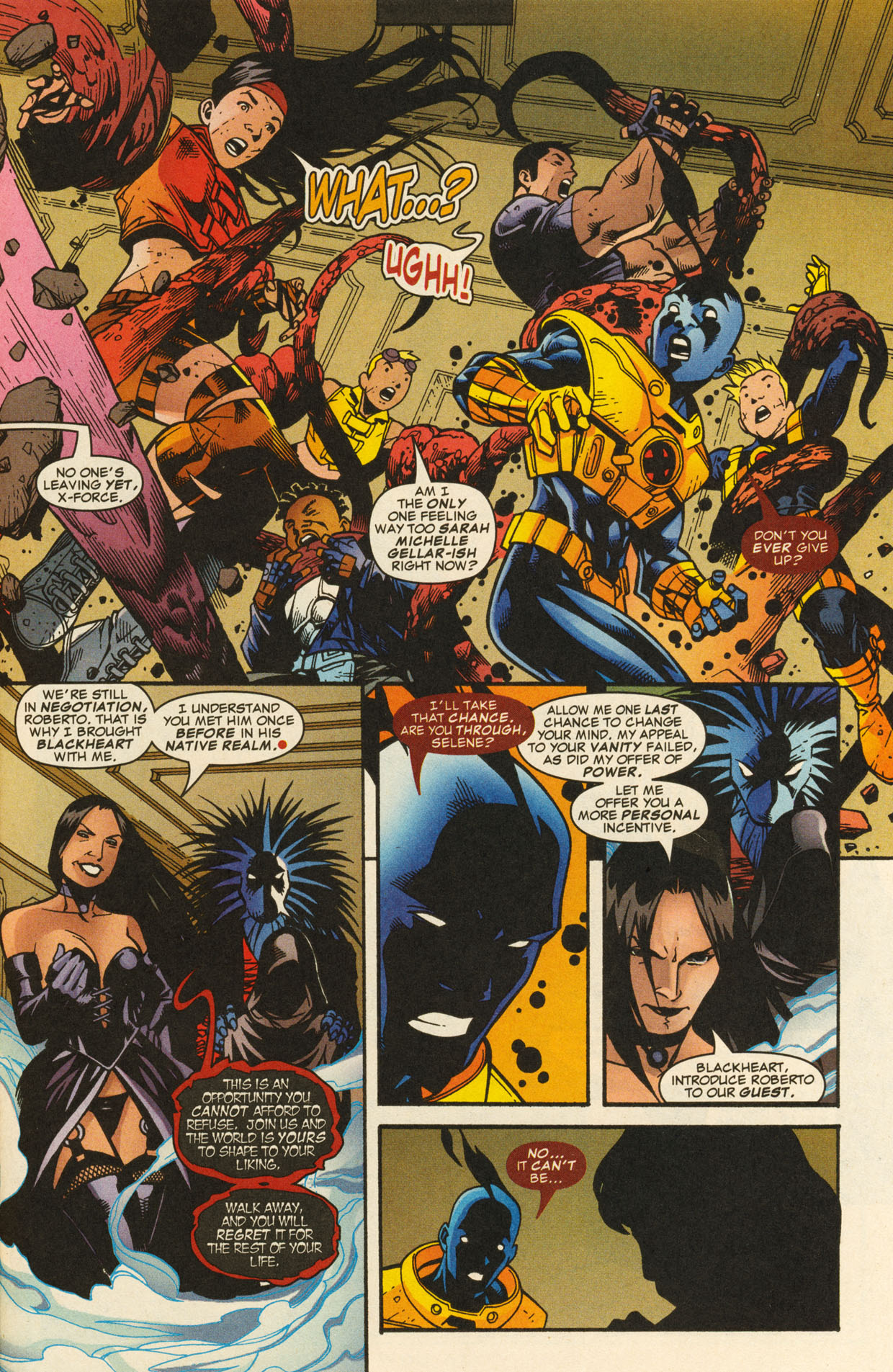 Read online X-Force (1991) comic -  Issue #98 - 34