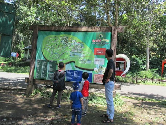 peta lokasi Taman Safari Prigen Pasuruan