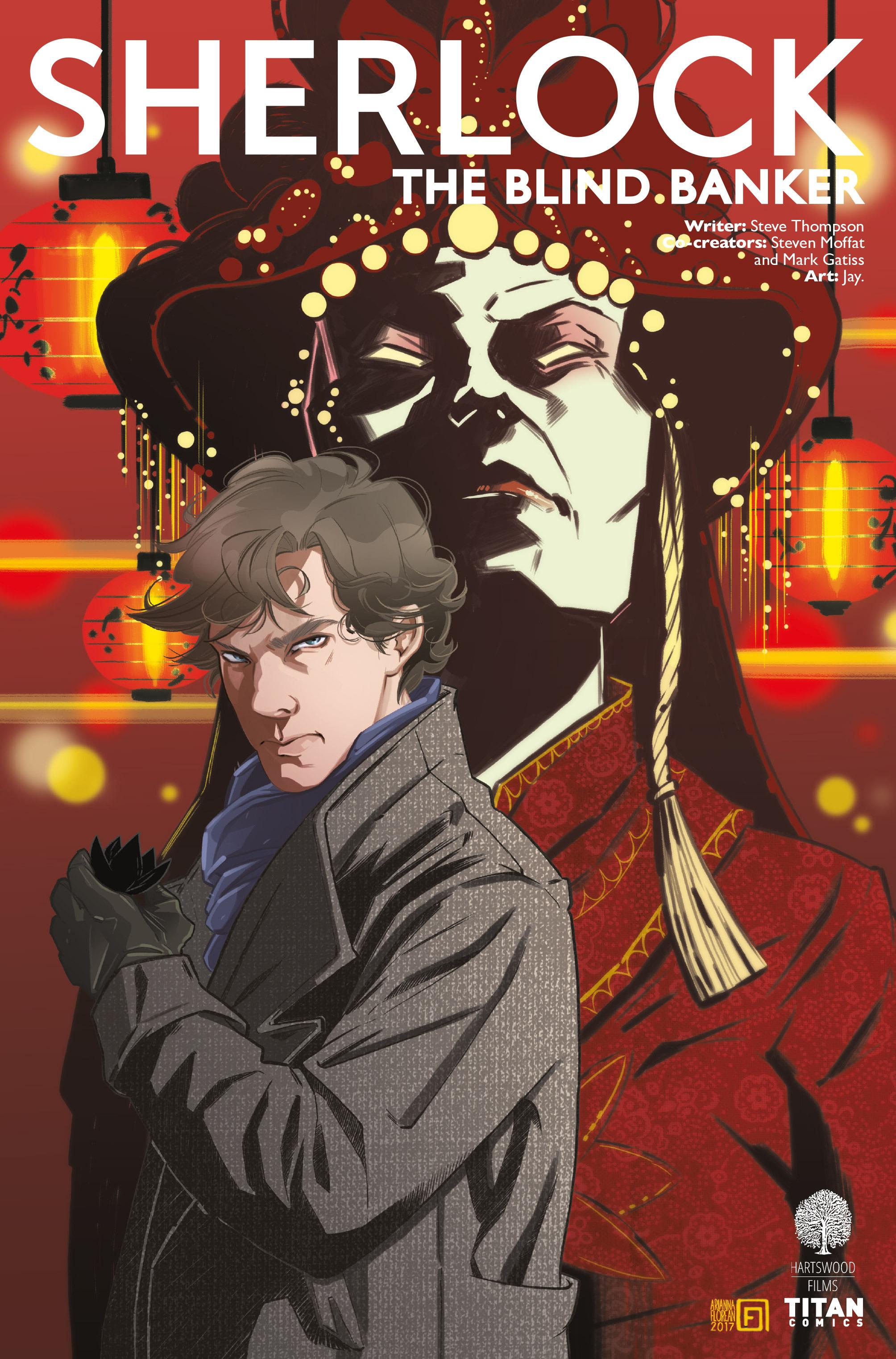 Read online Sherlock: The Blind Banker comic -  Issue #5 - 1