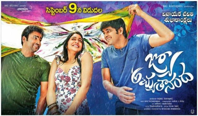 jyo achyuthananda movie new poster on Vinayaka chavithi