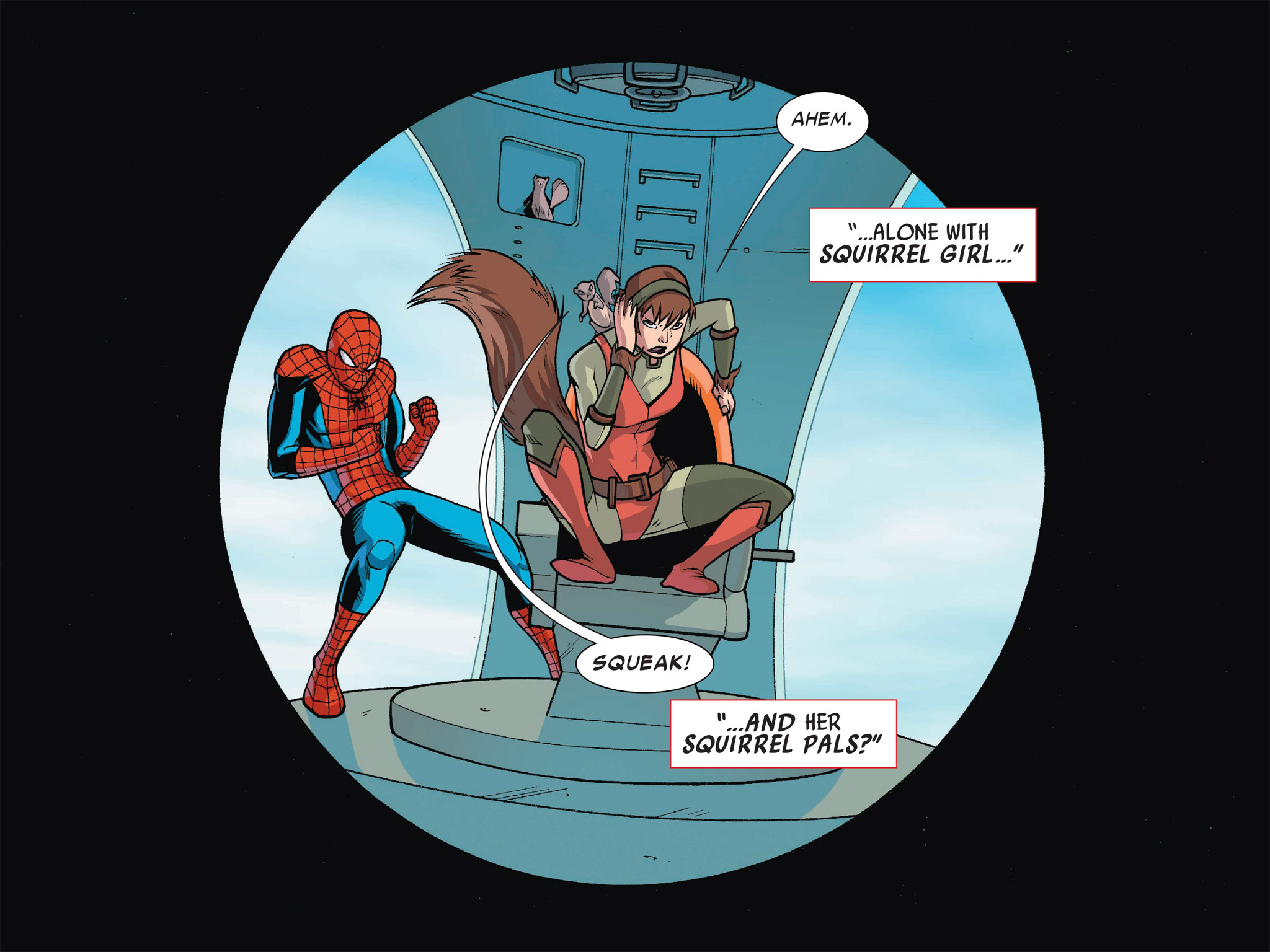 Read online Ultimate Spider-Man (Infinite Comics) (2016) comic -  Issue #1 - 4
