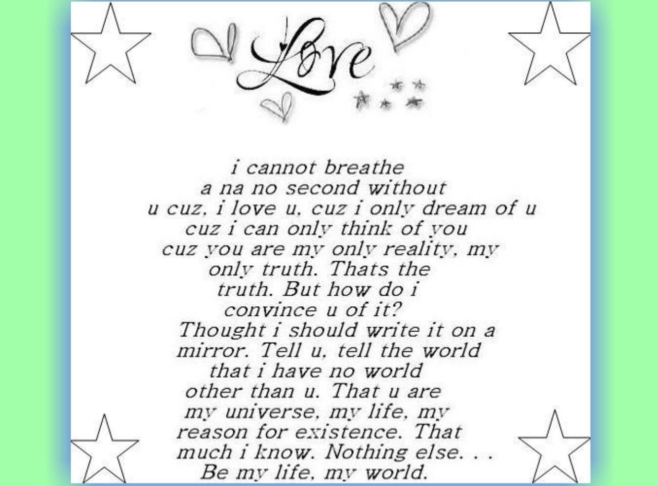 short love poems   softwaresandlife