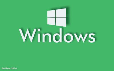Windows Logo by : BaliDev
