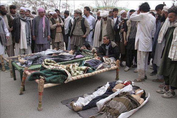 Afganistán. Ataque con bomba deja seis niños muertos