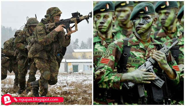 Perbandingan militer Indonesia dan Belanda saat ini, kalau mau Indonesia dengan mudah jajah balik