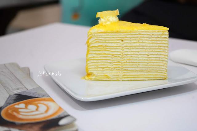 Lady T Cafe. Artisanal Milli Crepe Cake & Coffee in Kluang Johor