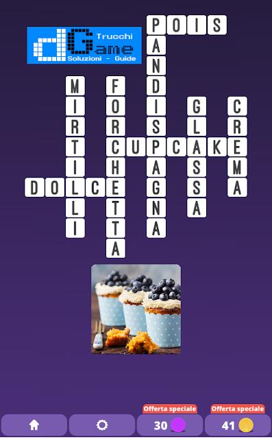 Soluzioni One Clue Crossword livello 19 schemi 6 (Cruciverba illustrato)  | Parole e foto