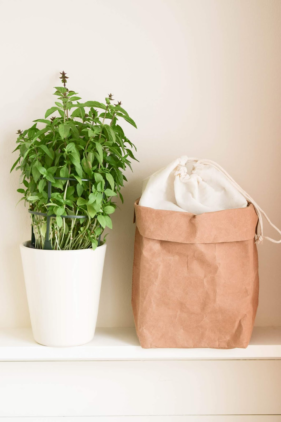 Kräutertopf für Küche: die bessere Idee: Kräuter in Aufbewahrungstüte von WENKO. Werbung