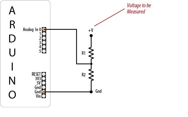 Arduino Your Home & Environment: Monitoring voltage of a