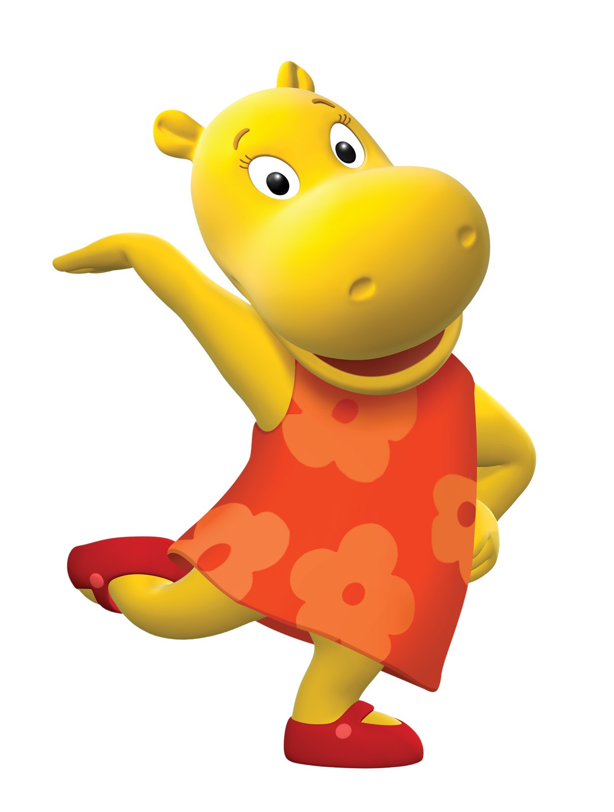Cartoon Characters: Backyardigans (Large PNG's)