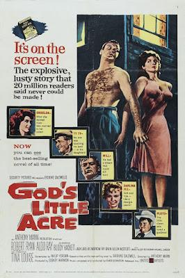 Póster película La pequeña tierra de Dios