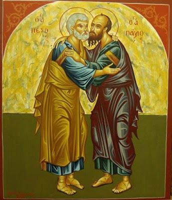 Εορτή παρεκκλησίου Αγίων Αποστόλων Πέτρου & Παύλου Λαδοχωρίου