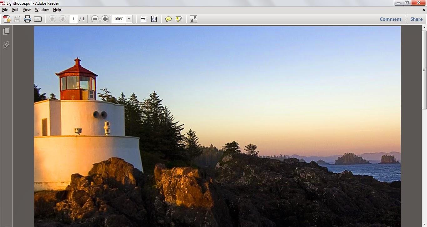 Tutorial mudah convert file gambar segala format menjadi file .pdf tanpa menggunakan software