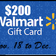 Saving Money Can Be Fun: Giveaway - $200 Walmart Gift Card