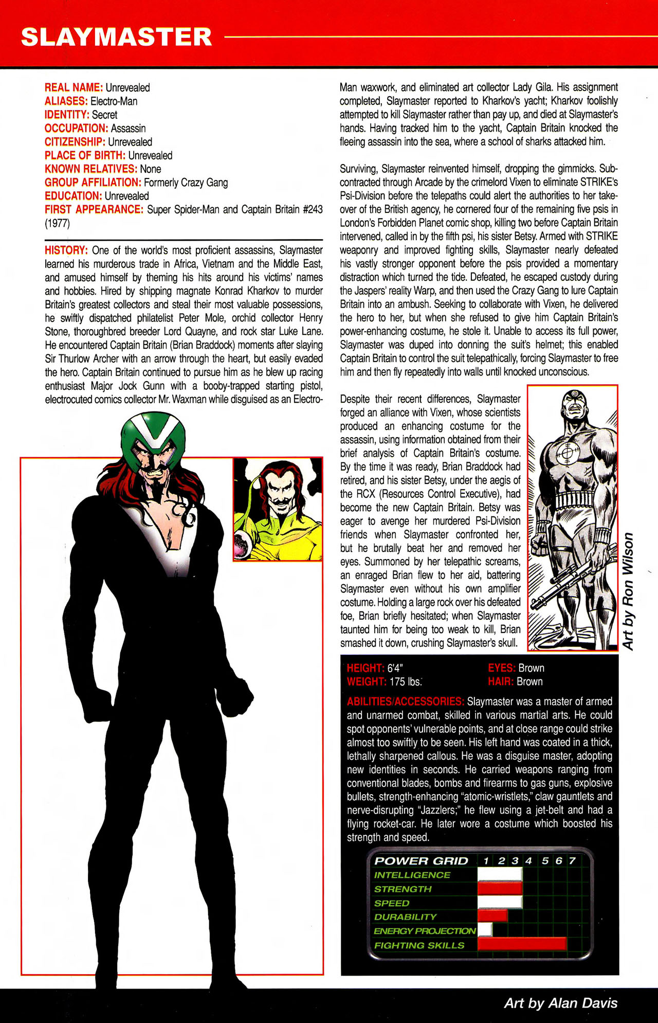 Read online All-New Official Handbook of the Marvel Universe A to Z comic -  Issue #10 - 24