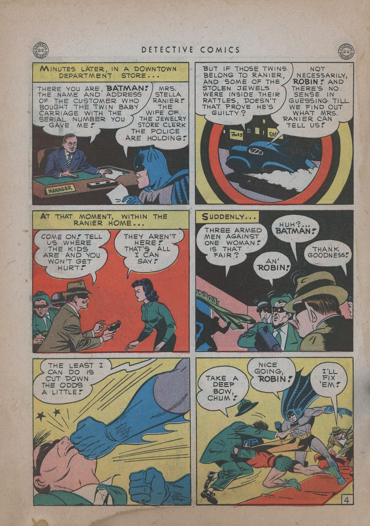Read online Detective Comics (1937) comic -  Issue #101 - 6