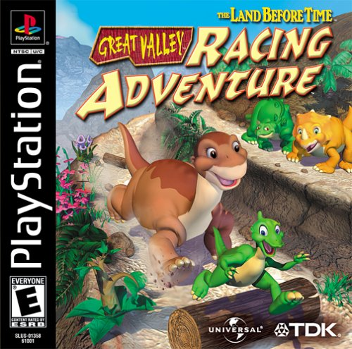 The Land Before Time Great Valley Racing Adventure - PS1 - ISOs Download